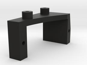 FR02 Servo Holder in Black Natural Versatile Plastic