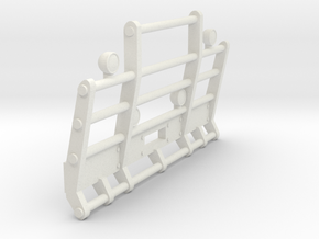 1/50th Herd or Road Train truck bumper in White Natural Versatile Plastic