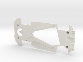 PSCA00502 Chassis for Carrera Ferrari F488 GT3 in White Natural Versatile Plastic