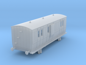 o-148fs-hb-luggage-brake-coach-1 in Smooth Fine Detail Plastic