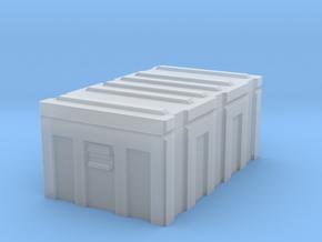 1/35 MILITARY FOOTLOCKER STORAGE BOX in Smooth Fine Detail Plastic: 1:35
