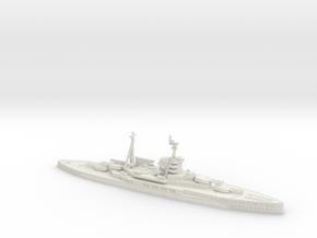 HMS Revenge 1/1800 (WWII) in White Natural Versatile Plastic