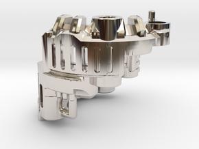 Graflex Mentor - Var2 Part06 - Power Gate in Rhodium Plated Brass