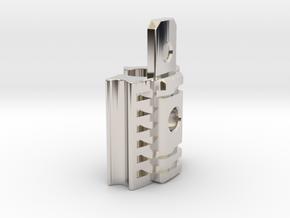 Graflex Mentor - Var2 Part14 - Power Switch in Rhodium Plated Brass