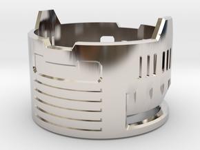 Graflex Mentor - Var2 Part17 - Gen Gate 2 in Rhodium Plated Brass