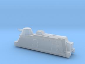 Panzerzüge artileriewagon armored train 1/144 in Smooth Fine Detail Plastic