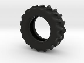 Rear-Wheel in Black Natural Versatile Plastic