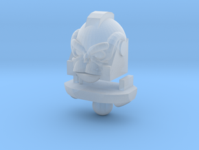 Monkey Bot Head in Smooth Fine Detail Plastic
