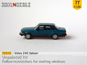 Volvo 240 Saloon (TT 1:120) in Smooth Fine Detail Plastic