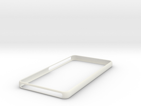 "Essential phone "" ph 1"" Bumper in White Natural Versatile Plastic"