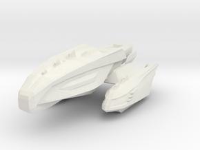 Gorn Vishap Class in White Natural Versatile Plastic