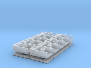 1015 MicroTrains Coupler Box (N - 1:160) 10X in Smoothest Fine Detail Plastic
