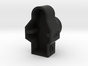 MP5 GBB End Cap for AR15 Buffer Tube V1 in Black Natural Versatile Plastic