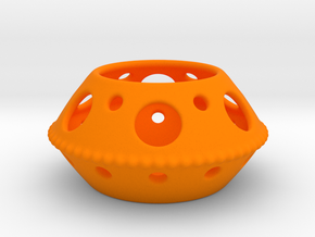 tea light in Orange Processed Versatile Plastic