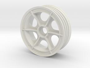 tamiya astute front left wheel in White Natural Versatile Plastic