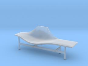 Miniature Terminal 1 Lounge Chair - BebItalia in Smooth Fine Detail Plastic: 1:12