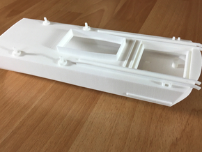 Thetis / Najade, Hull 3 of 3 (RC, 1:100) in White Natural Versatile Plastic