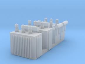 N 4x Distribution Transformer in Smooth Fine Detail Plastic