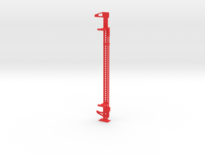"Oyla 1/10 Scale 48"" High Lift 3 Ton Jack with moun in Red Processed Versatile Plastic"