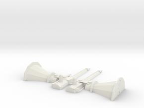 harpun for a ship in White Natural Versatile Plastic