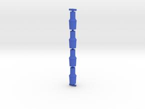 Antron Toriac Cuffs 4 Pack in Blue Processed Versatile Plastic
