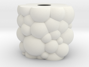 Soapy Bubbles Lamp Shade in White Natural Versatile Plastic
