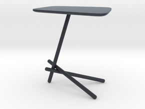 Miniature Coffee Table Laser - Cattelan Italia in Black PA12: 1:12