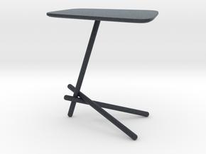 Miniature Coffee Table Laser - Cattelan Italia in Black PA12: 1:12