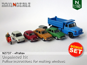 BONUS SET Praha (N 1:160) in Smooth Fine Detail Plastic