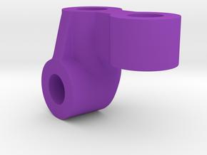 Margouillat Front AR60 Axle | Shock Support in Purple Processed Versatile Plastic