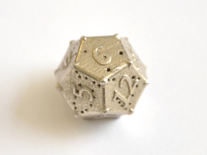 D12 Balanced - Constellations in Polished Bronzed-Silver Steel