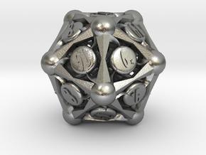 D20 Balanced - Sun in Natural Silver