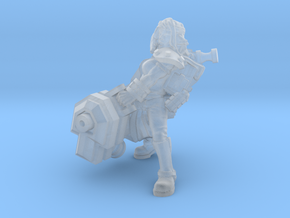 Miner Heavy Ion Cannon in Smooth Fine Detail Plastic