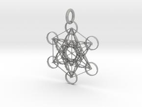 Metatron Sacred Geometry in Aluminum: Extra Small
