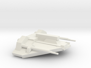 T-34 Air Speeder in White Natural Versatile Plastic