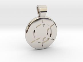 Star Realms [pendant] in Platinum