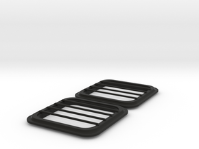 Hatch Wellcraft SC38 in Black Premium Versatile Plastic: 1:8