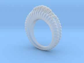 Fading Sound Ring in Smoothest Fine Detail Plastic