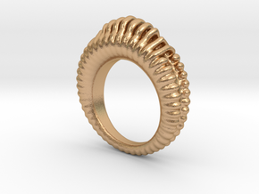 Fading Sound Ring in Natural Bronze
