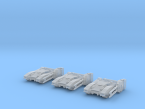 Type 61 Tank squad in Smooth Fine Detail Plastic: 1:350