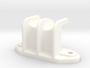 """Camel Co Side Door Guide (Modern) - 2.5"""" scale in White Processed Versatile Plastic"""
