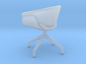 Miniature B&B Sina Chair - B&B Italia in Smooth Fine Detail Plastic: 1:12