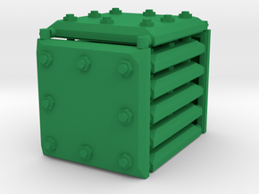 3 x 3 Armour Set in Green Processed Versatile Plastic