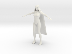 Printle V Femme 1106 - 1/32 - wob in White Natural Versatile Plastic