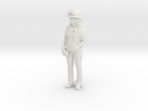 Printle C Femme 1122 - 1/32 - wob in White Natural Versatile Plastic