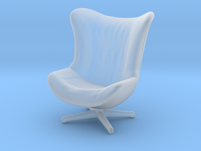 Miniature Amy Armchair - Ligne Roset in Smooth Fine Detail Plastic: 1:12
