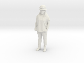 Printle C Femme 1128 - 1/32 - wob in White Natural Versatile Plastic