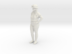 Printle C Femme 1130 - 1/32 - wob in White Natural Versatile Plastic