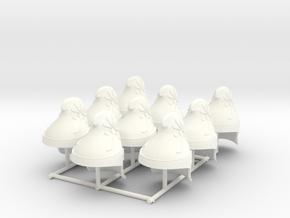 ETHAN 19  in White Processed Versatile Plastic