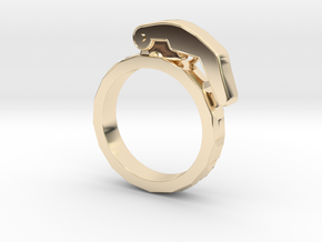 The Gringade - Grenade Ring (Size 7) in 14K Yellow Gold: 7 / 54